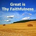 """Great Is Thy Faithfulness"" (Chris Rice 4-min worship video)"