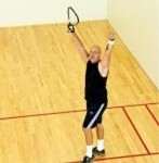 A Reader Fights the Fight of Faith During Racquetball